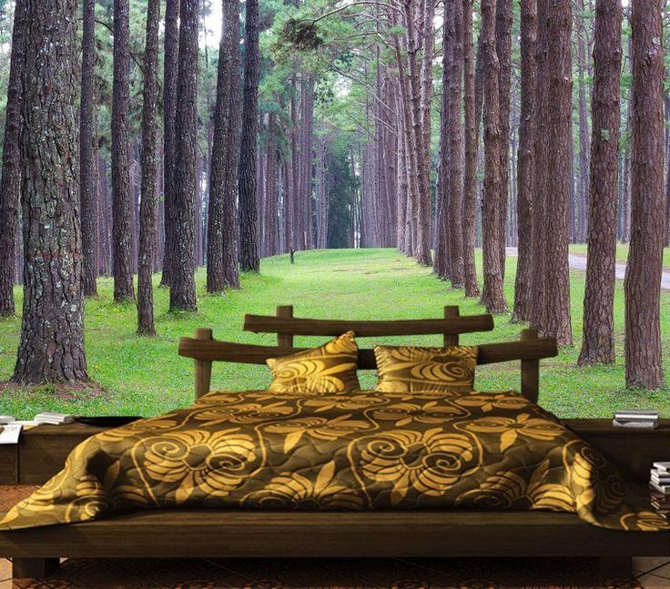 Ağaç Duvar Kağıdı   #3Boyutlu #Ağaç #Duvarkağıdı