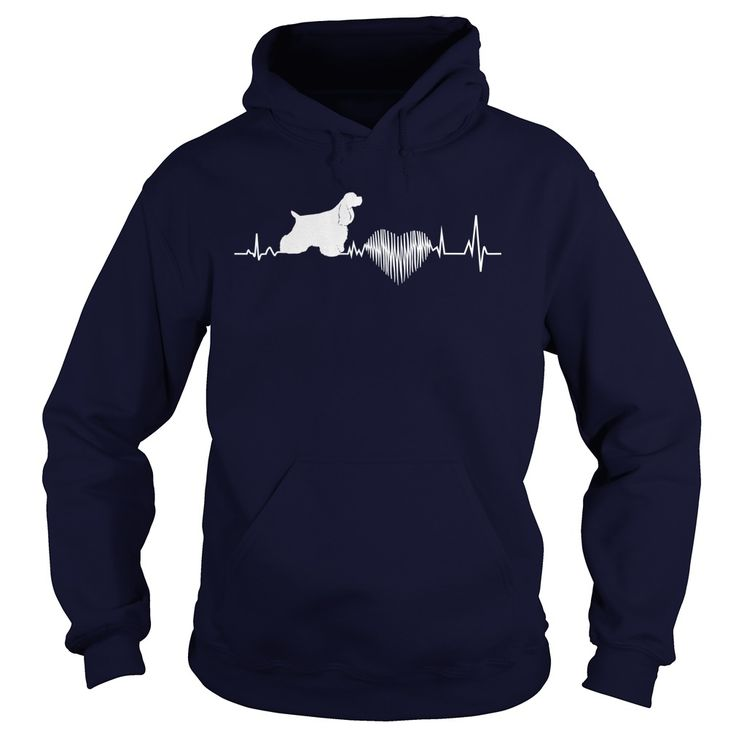 Cocker Spaniel Dog T-Shirts, Hoodies. SHOPPING NOW ==► https://www.sunfrog.com/LifeStyle/Cocker-Spaniel-Dog-128515919-Navy-Blue-Hoodie.html?id=41382