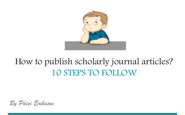 how to find scholarly articles online