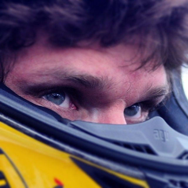 What do these eyes tell you? Guy Martin is ready for his season, looking forward to TT. And you?