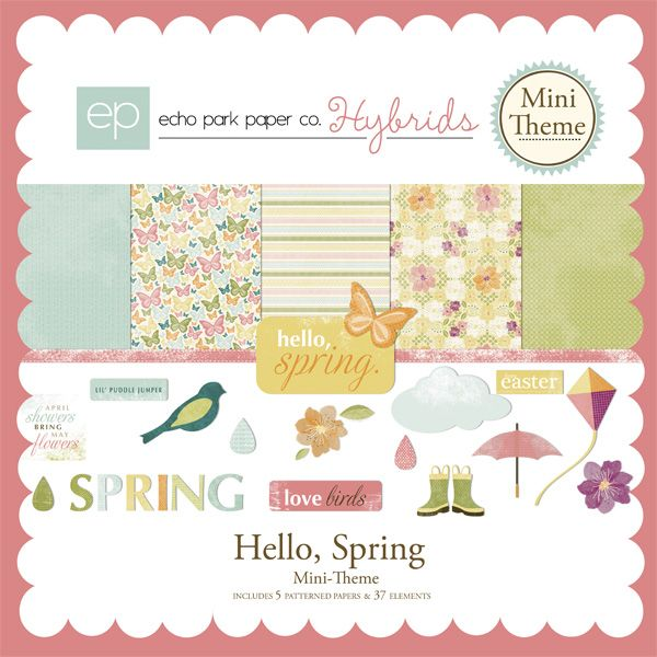 April showers and May flowers, Hello Spring is full of all of the things we love about spring.