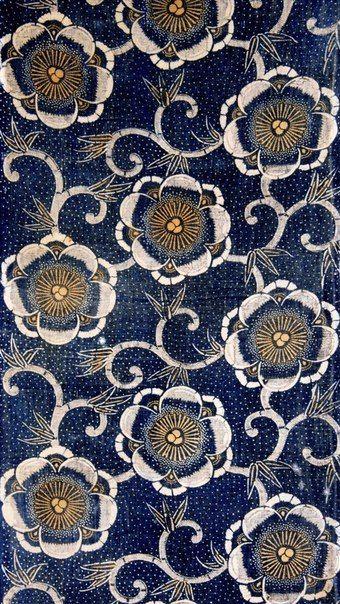 Indigo fabric || original source unknown