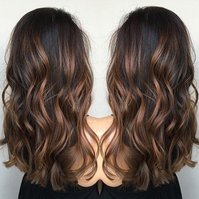 Pinterest Salma Haris In 2019 Brunette Hair Balayage