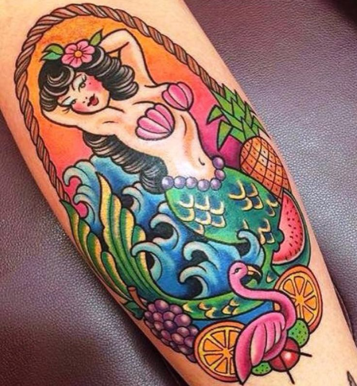 Mermaids and tropical tattoos blog