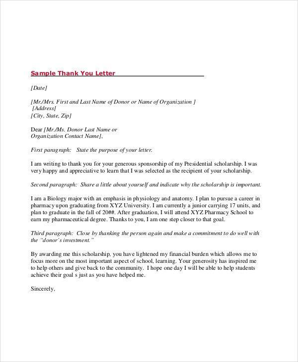 Scholarship Acceptance Letter Sample Unique 67 Acceptance Letter Examples Word Apple Pages Google In 2020 Acceptance Letter Scholarship Thank You Letter Letter Sample