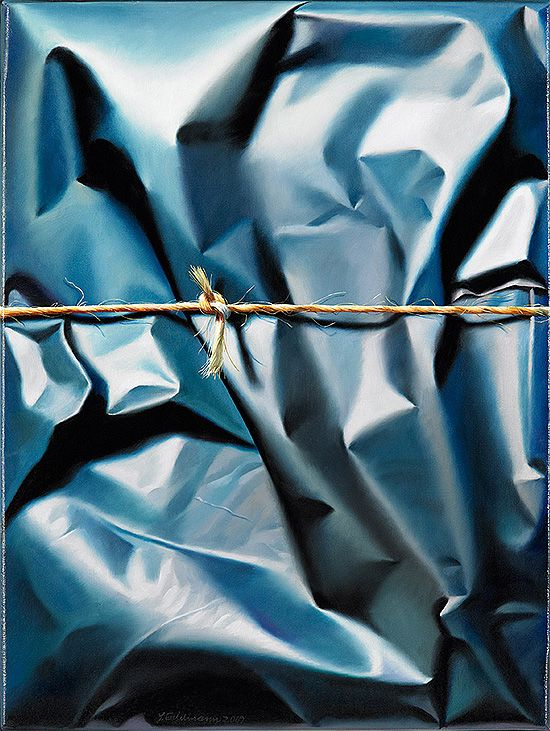 Hyper-Realistic Paintings of Packages by Yrjo Edelmann