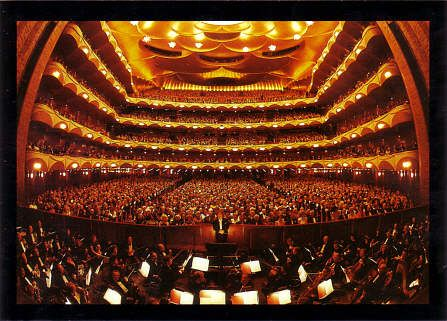 NYC.  Lincoln Center - Metropolitan Opera House