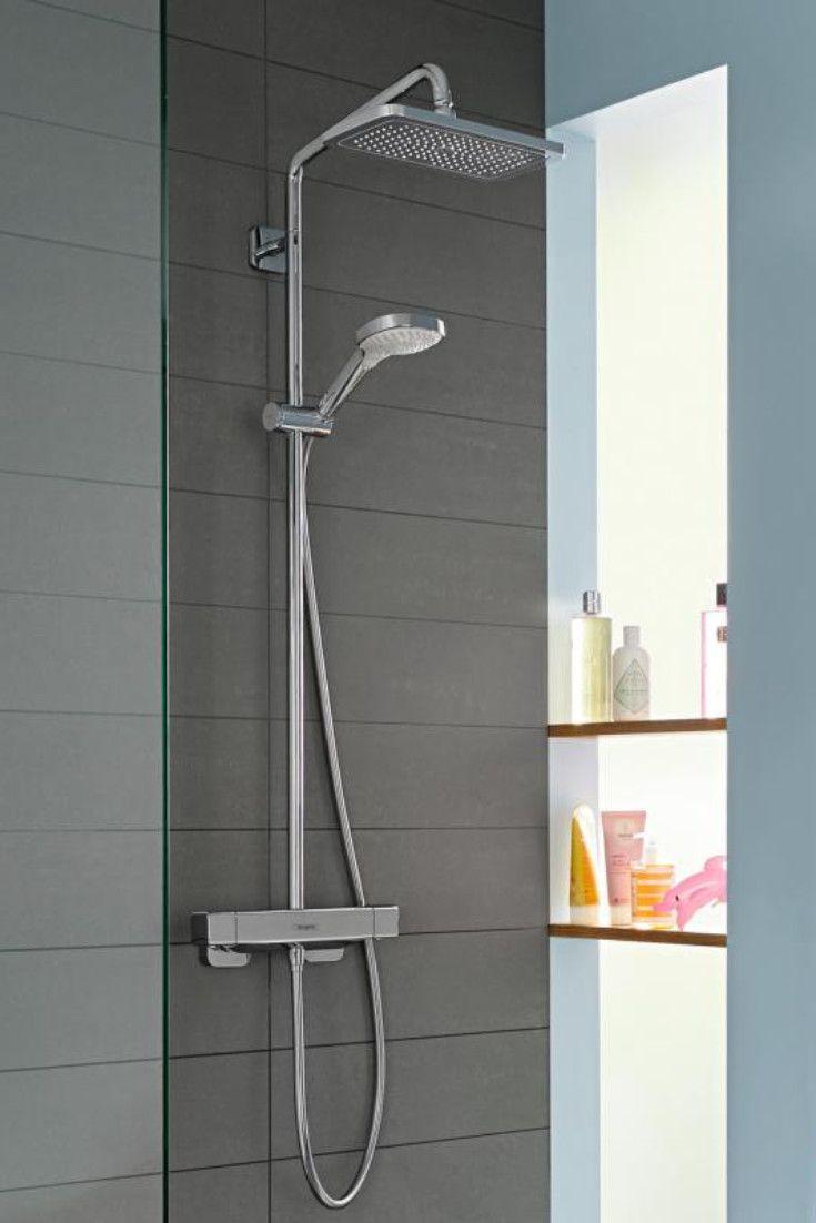 Hansgrohe Croma E 1jet Die Xxl Kopfbrause Bietet Mit Ihrem Weichen Und Luft Angereicherten Regenstahl Eine Badewanne Umbauen Badezimmer Badezimmer Waschbecken