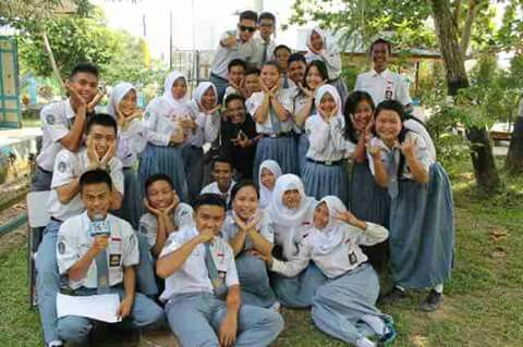 SMA Negeri 1 Tanjung Selor di Bulungan, East Borneo