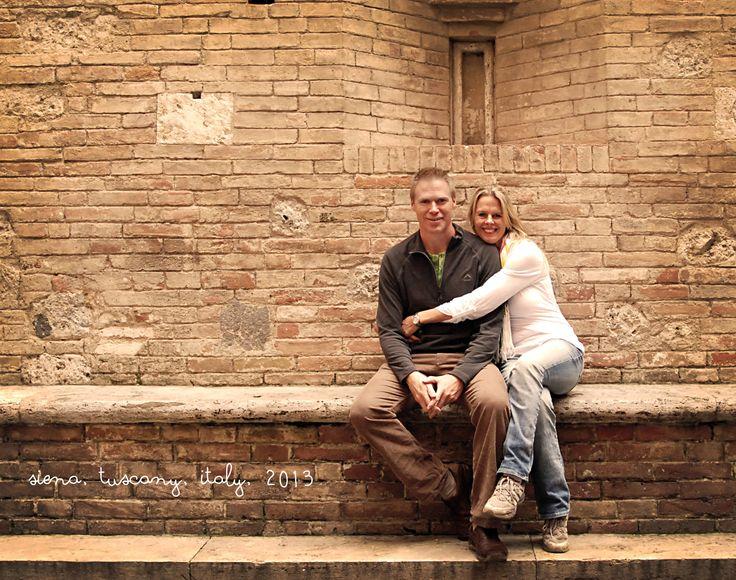 Mandi and I in Siena, Italy
