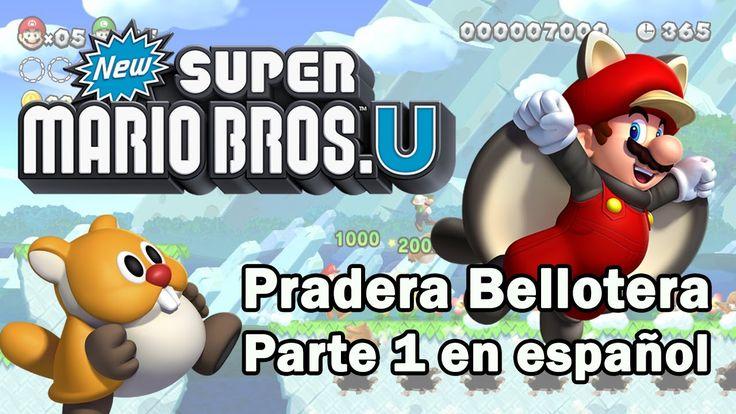 New Super Mario Bros U en español - Pradera Bellotera Parte 1 / Mundo 1. Gameplay sin comentarios del Mundo 1 de New Super Mario Bros U para Wii U Pradera Bellotera. En español. Visita mi sitio web: http://www.adverglitch.com
