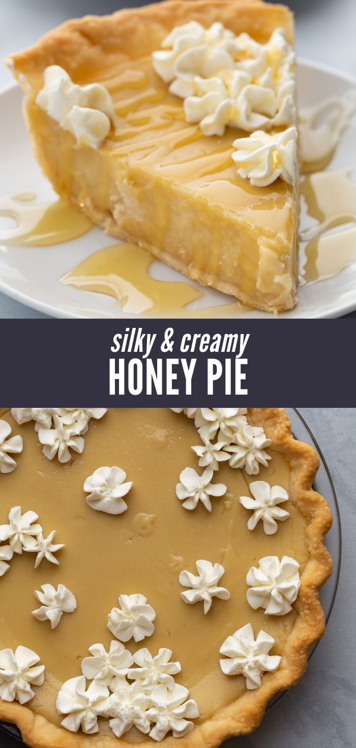 Honey Pie Recipe With Images Honey Pie Dessert Recipes