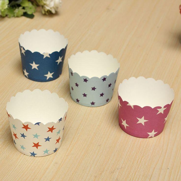 Goedkope 50 STKS Kleur Willekeurig Sturen Papieren Cake Liners Bakken Muffins Keuken Cupcake Gevallen Hot Selling, koop Kwaliteit   rechtstreeks van Leveranciers van China: Materiaal: papierHoeveelheid: 50Kleur: roze, witte, donker blauw, lichtblauwOpen te stellen diameter: 60mmHoogte: