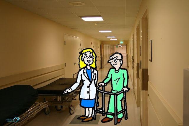 #opiekunmedyczny #życiowe Często osoby odwiedzające pacjentów wzdychają:  - Jaka to ciężka praca, no ale ktoś to musi przecież robić!  Moja odpowiedź brzmi zawsze jednakowo:  - Nikt nie musi. Ja na pewno nie czuję się do niczego zmuszana. Ja chcę! - Ale -  nie dają za wygraną goście - przecież trzeba gdzieś pracować... - Owszem trzeba - odpowiadam. - Tylko że pracować mogłabym równie dobrze gdzie indziej, wykonując zupełnie inny zawód. Mało kto to rozumie, chociaż dla mnie jest to takie…