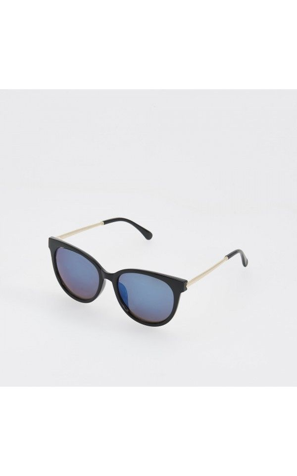 Mirror sunglasses, NEW COLLECTION SK 16, black, RESERVED