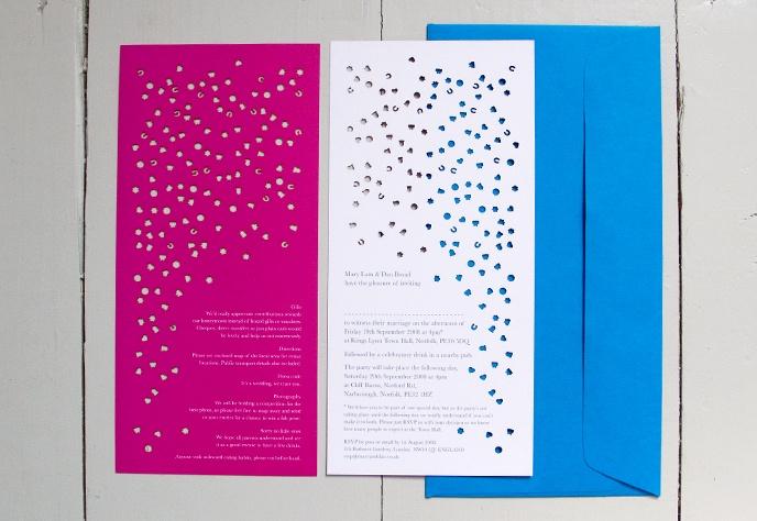 Confetti laser cuts! By Bless Design.: Lasercut Trends