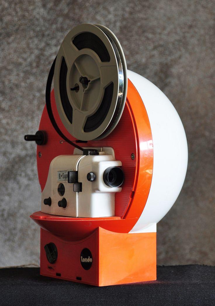 "Mid-Century Modern Freak | 1970s Polistil ""Tondo"" Super 8 Projector - Via"