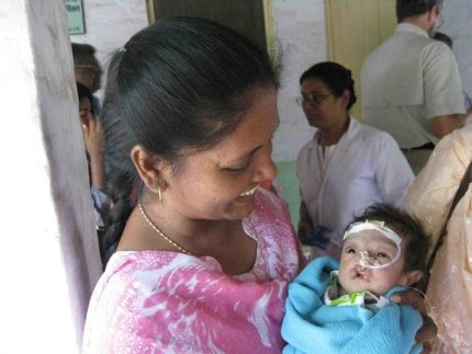 On February 24, 2011, a precious little girl was born. Unfortunately, her lip and the roof of her mouth were not fully formed and closed, leaving her with a cleft palate. To read her full story, click here - http://globalaid.net/blog/knit-by-god. #gain