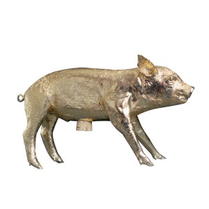Harry Allen Golden Pig BankGold Piggies, Form, Areaware, Pigs Banks, Gold Pigs, Piggies Banks, Harry Allen, Golden Pigs, Products