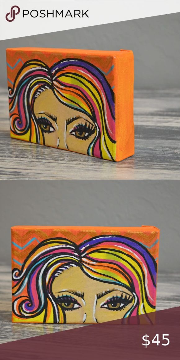 Small gallery wrapped canvas painting in 2020 Gallery