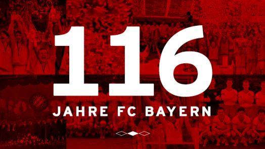 FCB feiert 116. Geburtstag - FC Bayern München AG