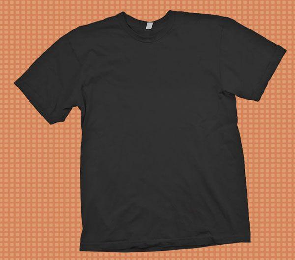 t shirt template psd