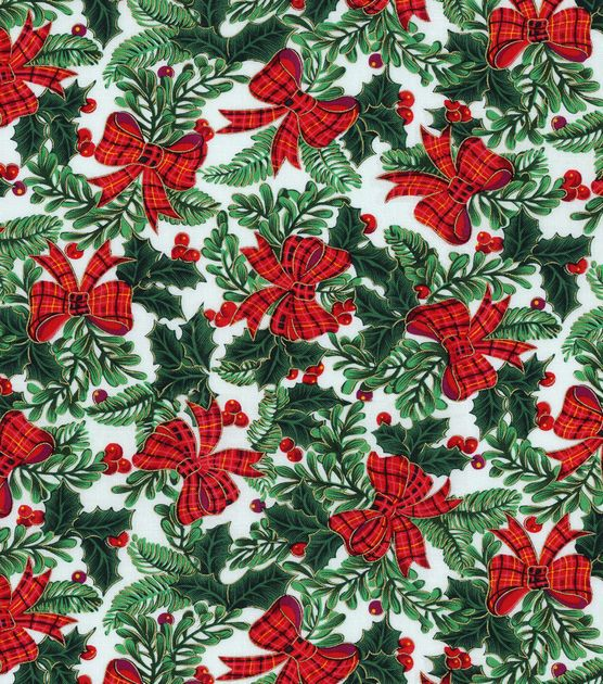 Holiday Inspirations Fabric-Bows: