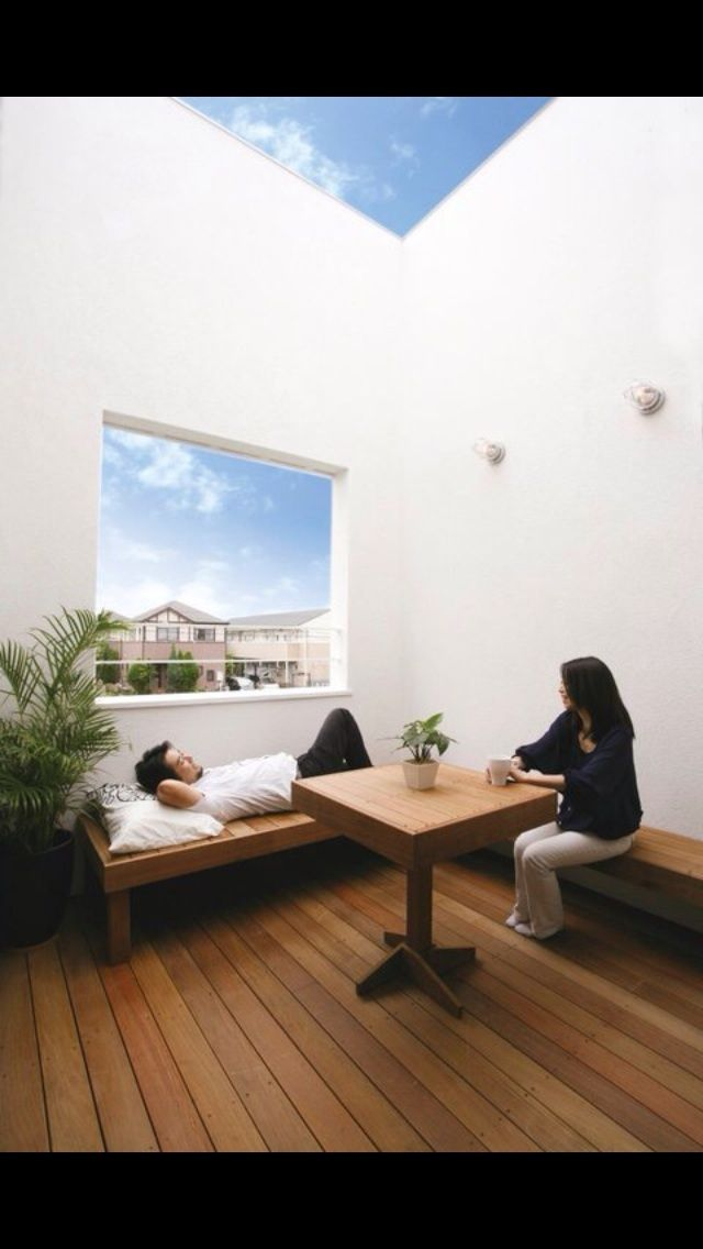 アウトドアリビングのイメージ シンプルデザイン 土間とリビングがつながるお家の画像 | RYO'S Sturdy Style private blog