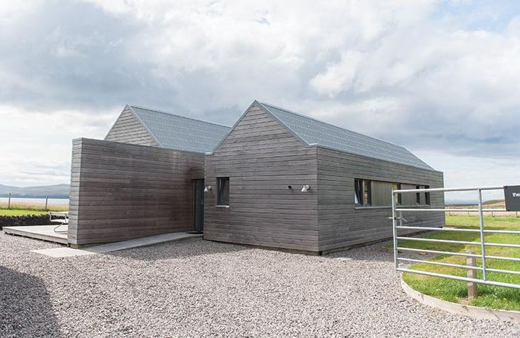 Two Byres is inspired by traditional Scottish agricultural buildings