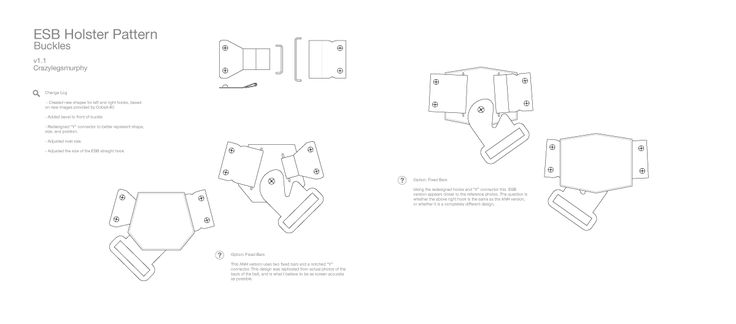 Han Solo Holster - Screen Accurate Pattern