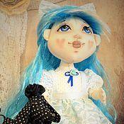 Куклы и игрушки ручной работы. Ярмарка Мастеров - ручная работа Мальвина и Артемон, текстильная авторская кукла. Handmade.
