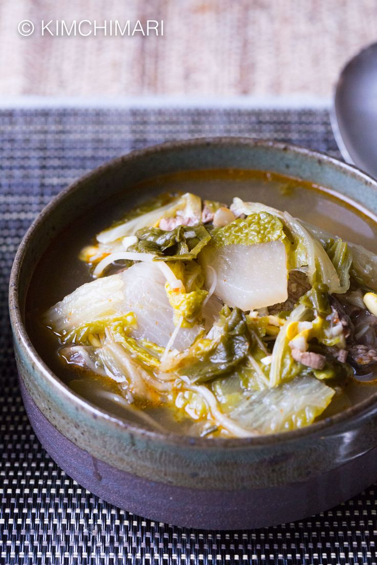 Instant Pot Korean Beef Cabbage Radish Soup is a great everyday kinda soup that you can make easily in 35 min or less! Hearty, healthy and delicious!!