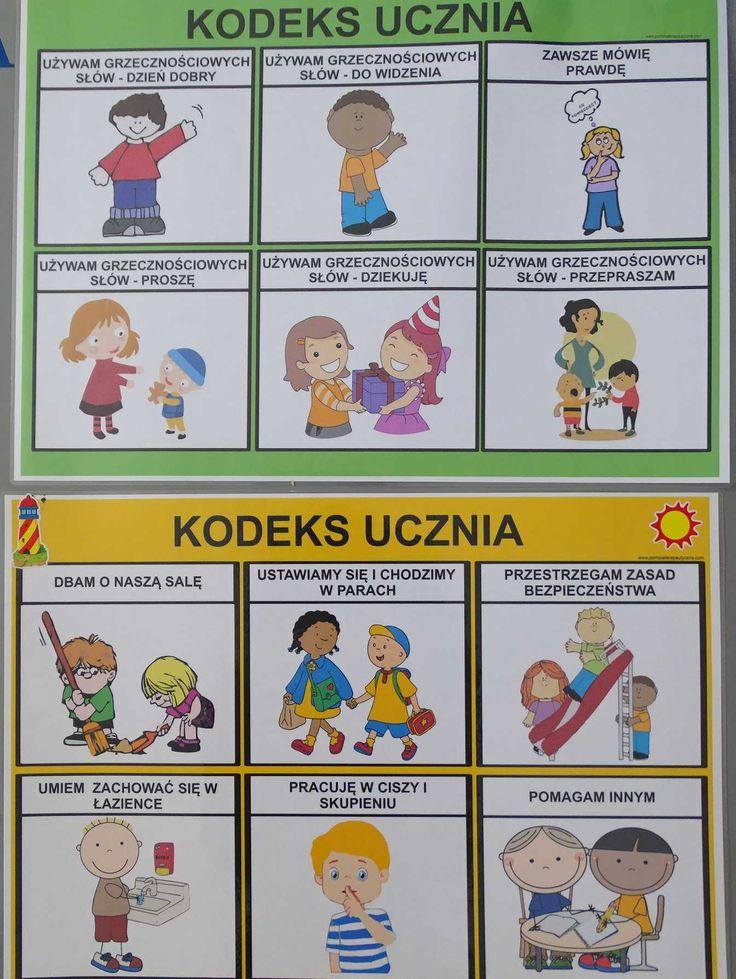 KODEKS UCZNIA - 2 PLANSZE