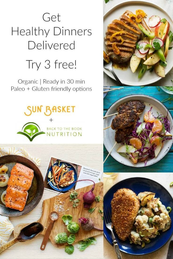 Healthy Dinner Delivery From Sun Basket Try 3 Free Healthy Healthy Dinner Healthy Honey
