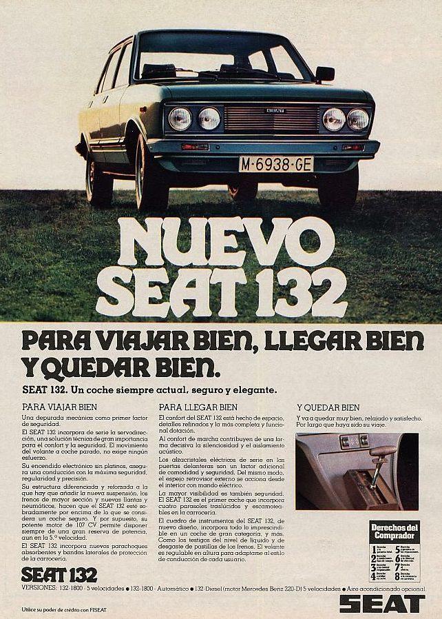 Seat 132. Año 1978