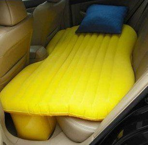 Inflatable car bed... Need this for road trips - Ok, this is pretty cool