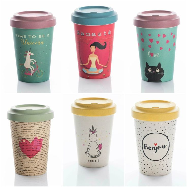 Details About Bamboocup Coffee Bamboo Cup 400ml Travel Mug