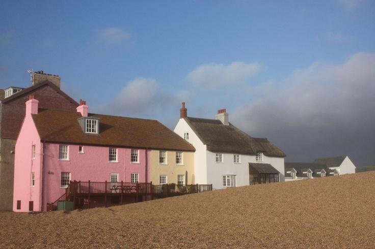 West Bay Cottages, Dorset, England::Morris Skerman Photography::