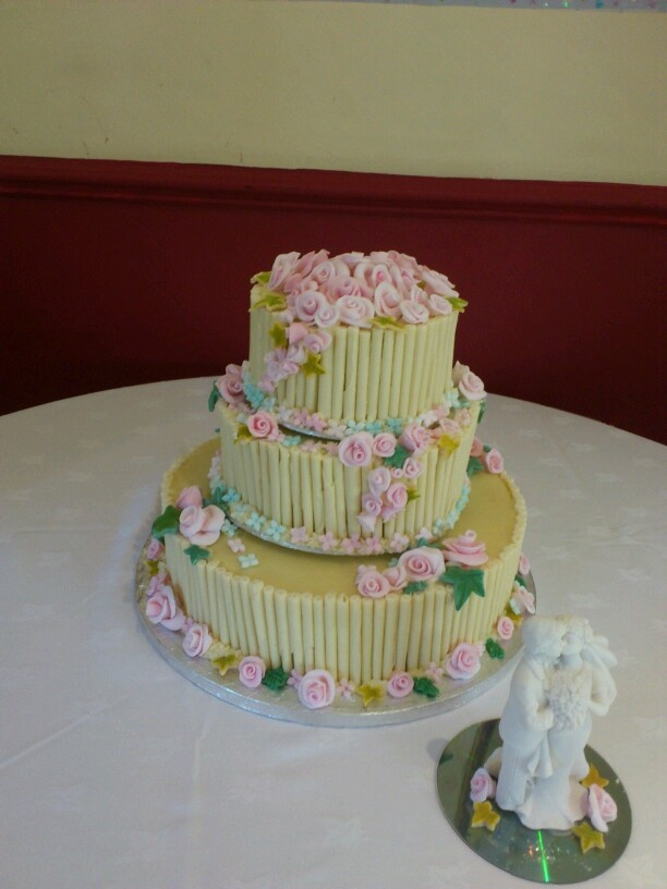 Wedding cake for Laura
