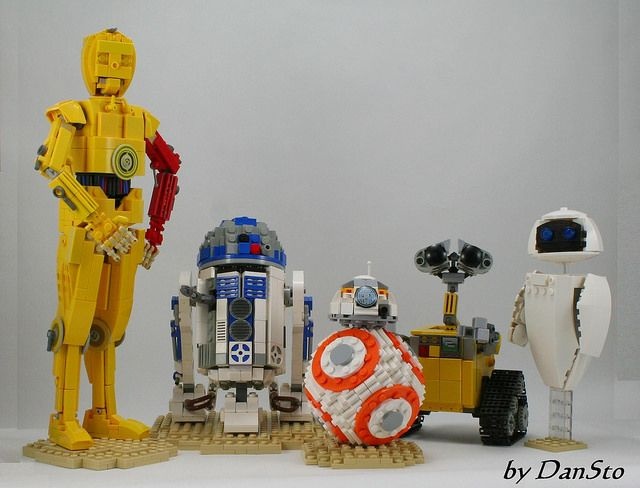 All the droids you're looking for #lego #geekart