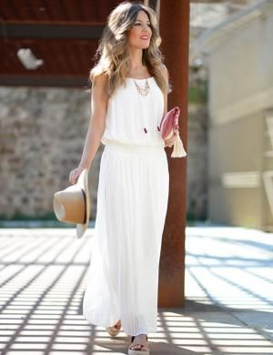 Mi aventura con la moda Maxi vestido ibicenco