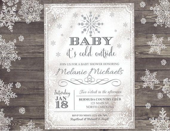 Best 25+ Snowflake baby shower ideas on Pinterest | Winter shower ...