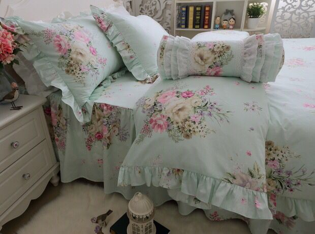 251 Best Images About Ruffle Princess Bedding Set On