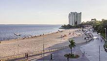 Praia da Ponta Negra, localizada no bairro do mesmo nome, Ponta Negra,, na Zona Oeste da cidade de Manaus, às margens do rio Negro. Está localizada a 13 km do Centro da capital amazonense. Além de ser um ponto turístico, Ponta Negra é o bairro mais nobre de Manaus.