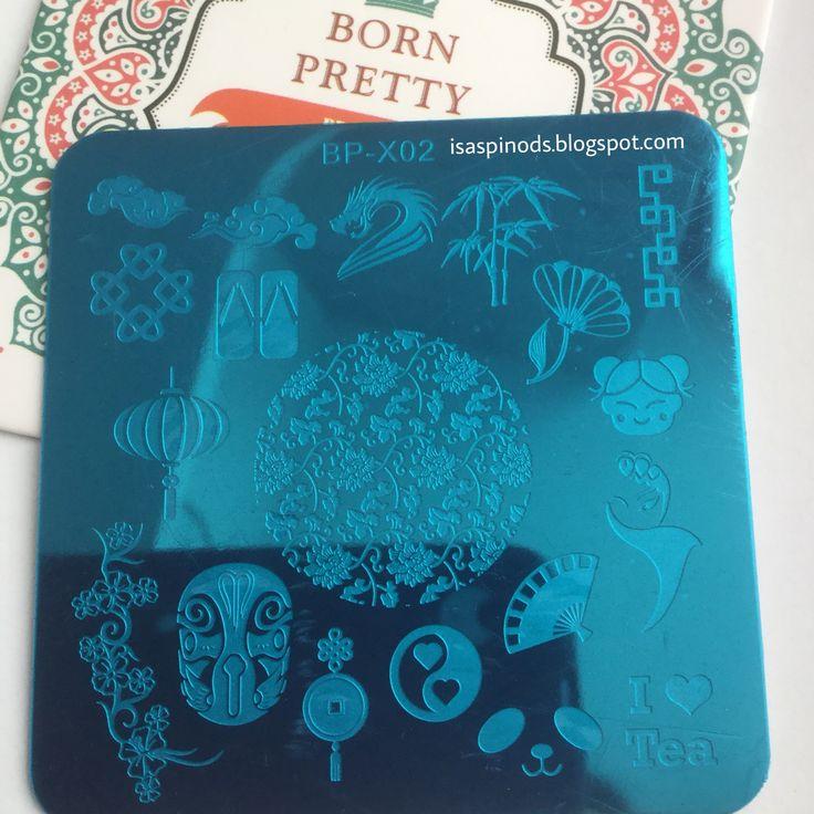 ♥ Placa BP-X02 de la web Born Pretty Store - Más información-> http://www.bornprettystore.com/born-pretty-66cm-square-nail-stamp-template-china-design-image-plate-p-29975.html