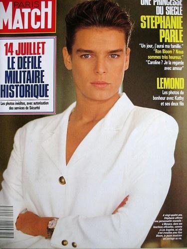 STEPHANIE DE MONACO  PARIS MATCH AOÛT 1989