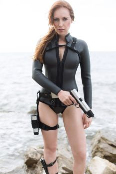 Lara Croft Tomb Raider Underworld style wetsuit by milla-s