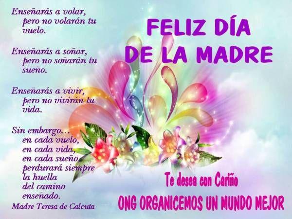 Feliz Dia De Las Madres Feliz Día De La Madre Mensaje Del Día De La Madre Tarjetas Del Día De Las Madres