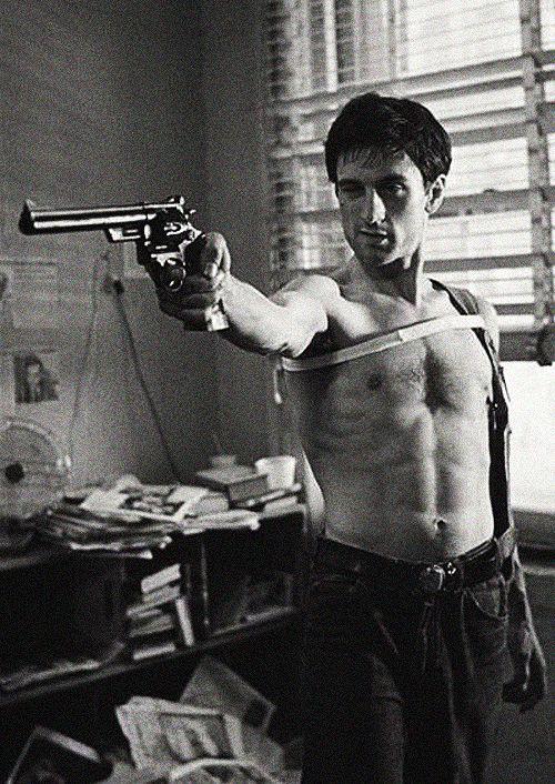 Taxi Driver.  Robert De Niro