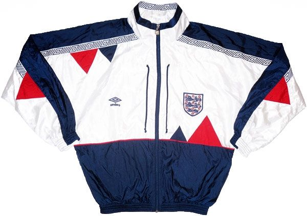 England Umbro 1990 World Cup Shell - Classic